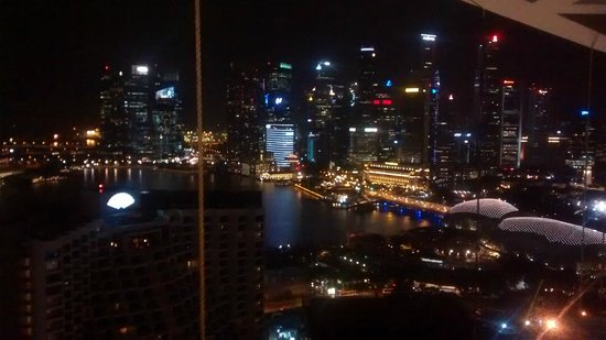 Pan Pacific Singapore: view from 32nd flr
