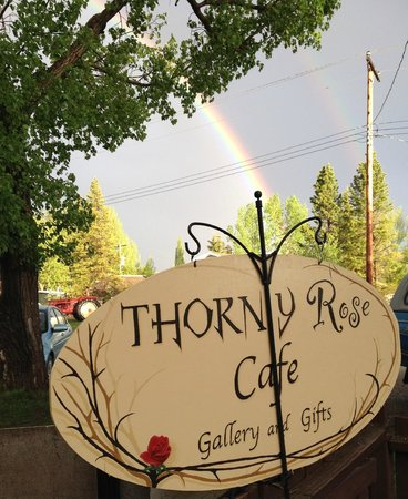 The Thorny Rose Cafe: Love this photo..