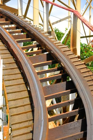 Blackpool Pleasure Beach: Le paradis des coaster en bois