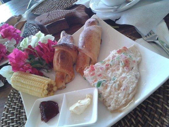Kilima Kidogo Guesthouse: Breakfast at Kilima Kidogo
