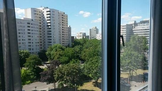 Hotel Berlin, Berlin: view from our room