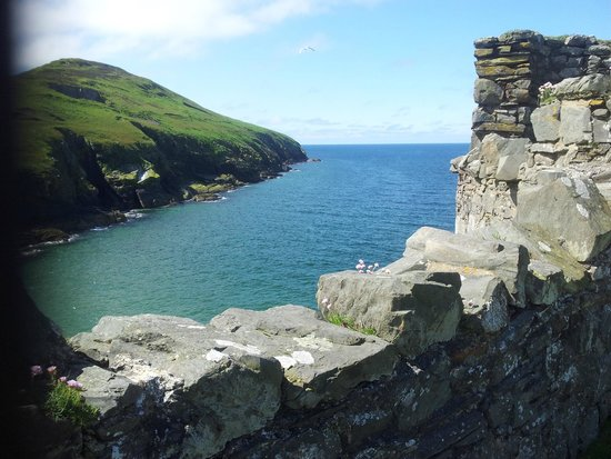 Peel Castle: Great Views from the Battlements