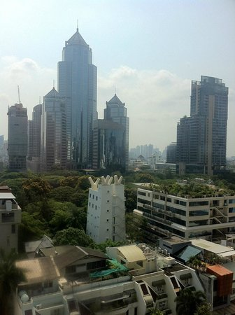 Cape House, Bangkok: View from my room