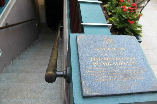 Sofitel Legend Metropole Hanoi: Bomb Shelter