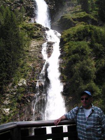 Gasteheim Prantl: waterval Umhousen