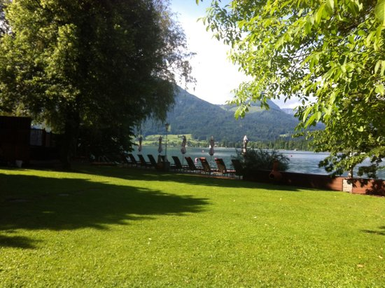 Hotel Cortisen am See: View from breakfast