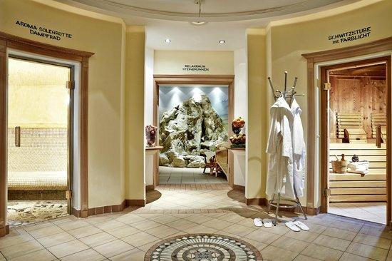 Scharlers Boutique Hotel: Wellnessbereich