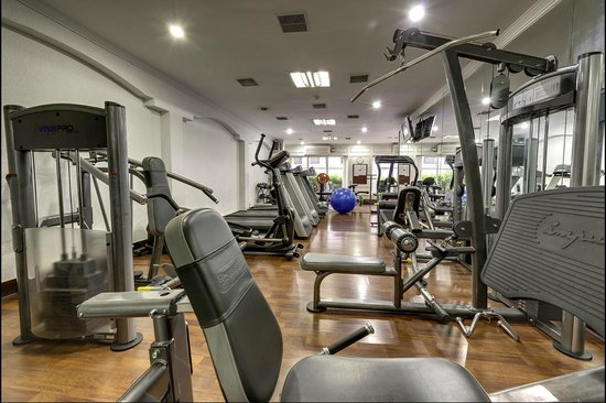 Hotel Hindusthan International Kolkata: Hotel Fitness Centre