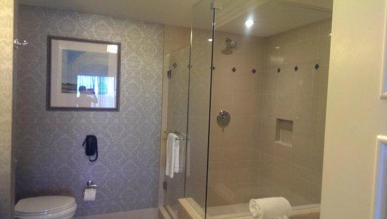 Waldorf Astoria Orlando: walk in shower