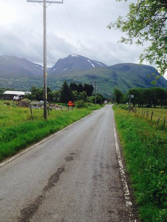 Lochy Holiday Park : Landscape near park