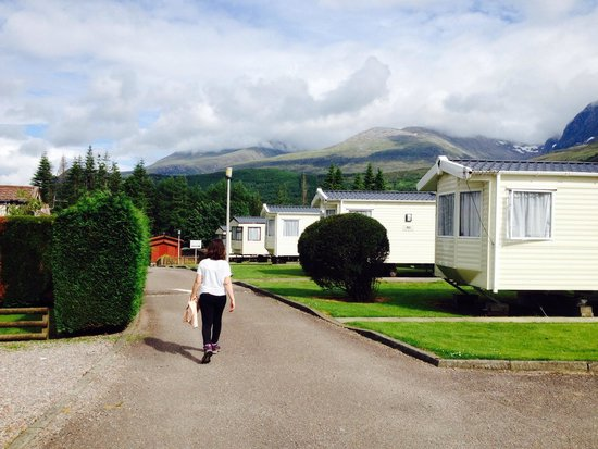 Lochy Holiday Park : Another path of the park