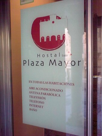 Hostal Plaza Mayor: Air-conditioning in every room