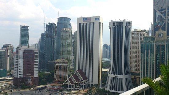 Somerset Ampang Kuala Lumpur : View from the pool