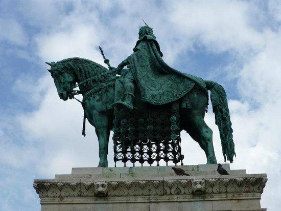 Statue of St Stephen: Impressive Statue of a Hero