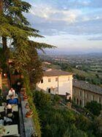 ristorante metastasio : terrace view