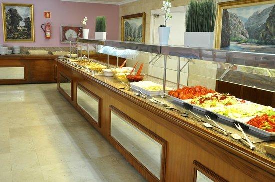 Playa Blanca Hotel : Playa Blanca, buffet
