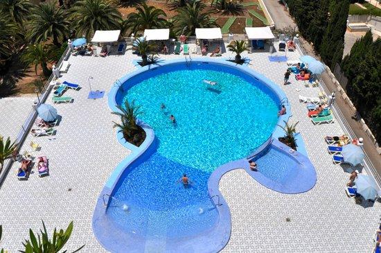 Playa Blanca hotel pool