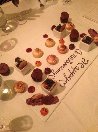 Cafe Ponte: Dessert sampler