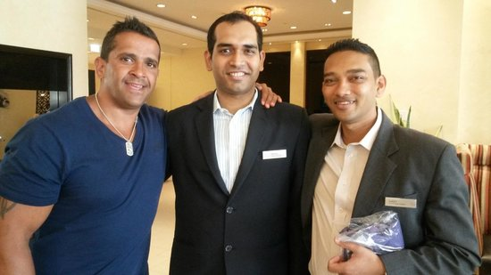 Hilton Ras Al Khaimah Resort & Spa: RAHUL AND AJEEV MANAGEMENT STAFF