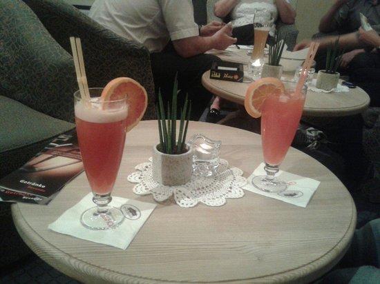 Hotel Gassenhof: Cocktail frutta speciali!