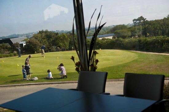 Golf de Saint Samson : Putting green, golf de Saint-Samson