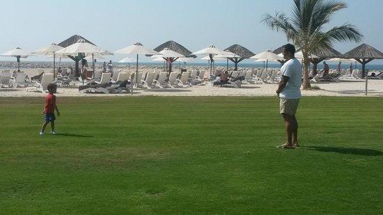 Hilton Ras Al Khaimah Resort & Spa : view from AL BAHAR restaurant