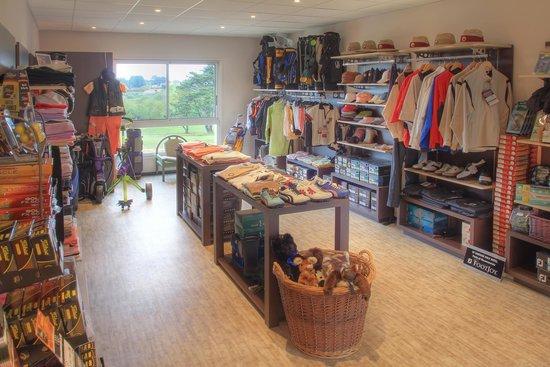 Golf de Saint Samson : Pro shop, golf de Saint-Samson