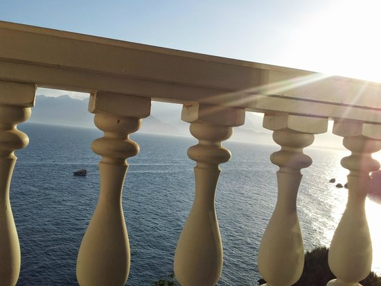 La Boutique Hotel Antalya: view from bed