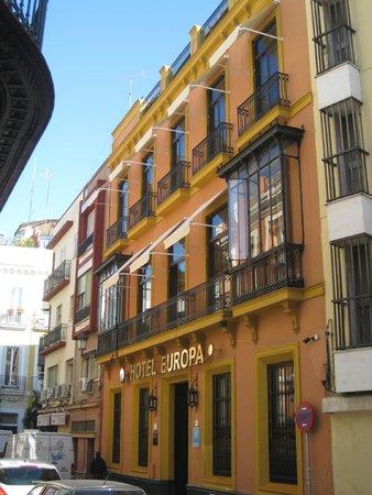 Hotel Europa: Fachada Principal