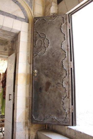 Via Dolorosa (Voie Douloureuse) : Dettaglio della porta di una fermata
