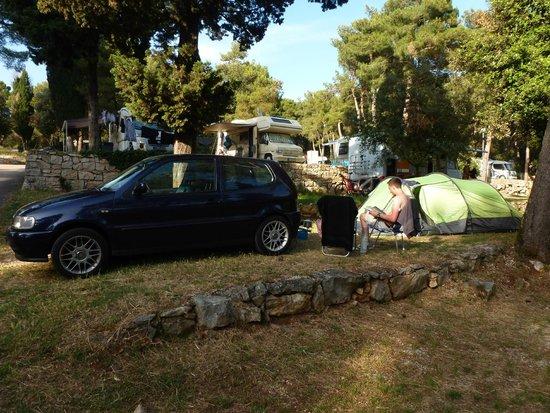 Camping Porton Biondi Rovinj: Camp spot