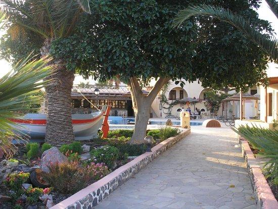 Smaragdi Hotel : entrée