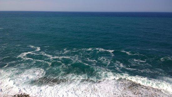 Stunning beautiful view of the open sea in front of it-Torri restaurant
