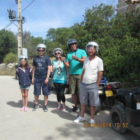 Quad Ventura: great day