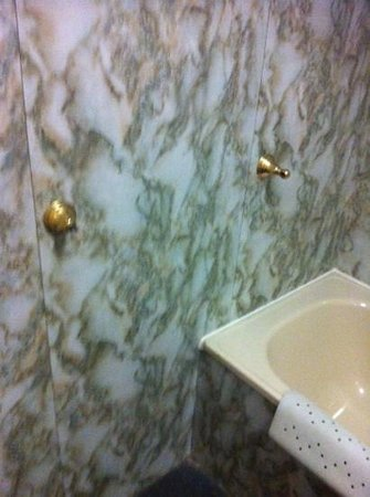 Adelphi Hotel & Spa: broken towel rails
