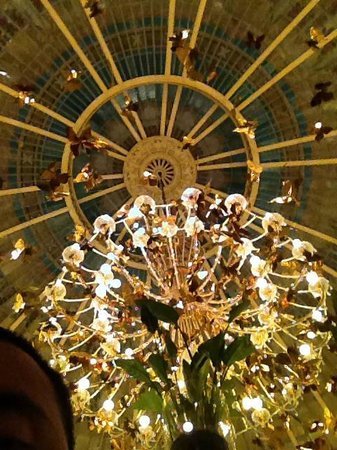 The Westin Palace Madrid: Golden Dome inside hotel