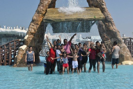 Iceland Water  Park : Group pic