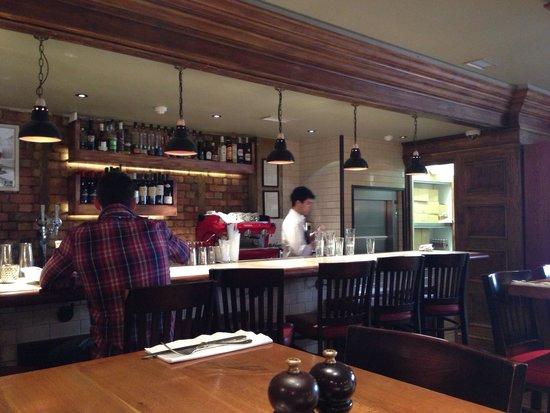 Burger & Lobster - Mayfair: Plenty if room at 4pm