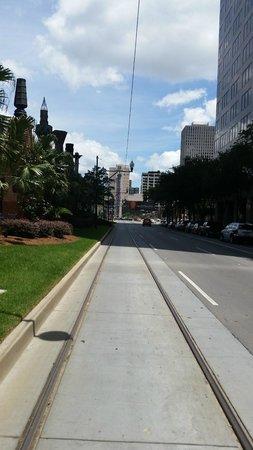 Holiday Inn Downtown Superdome : Imagen de clarinete más grande del mundo.
