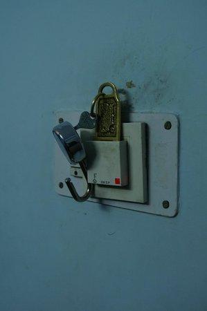 Hotel Akashdeep : Master switch