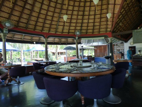 The Dune Eco Village & Spa : Air cooled restaurant