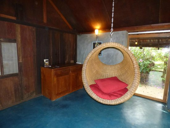 The Dune Eco Village & Spa : our room's lounge