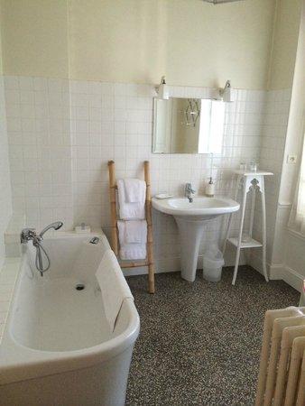 La Framboisine : Salle de bains