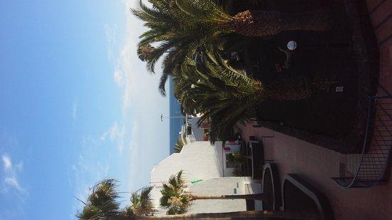 Ereza Apartamentos Los Hibiscos : veiw from our balcony