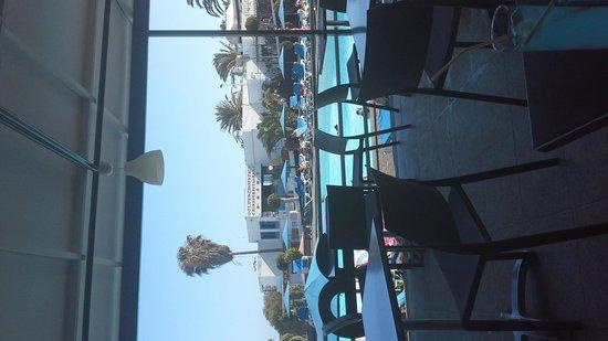 Ereza Apartamentos Los Hibiscos : poolside terrace