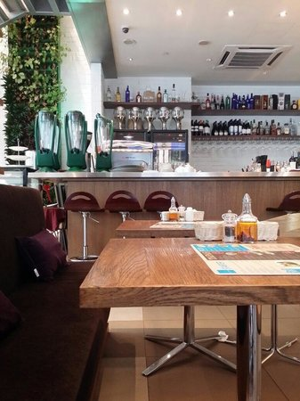 comfortable seating plan and seats and tables picture of blu med rh tripadvisor com