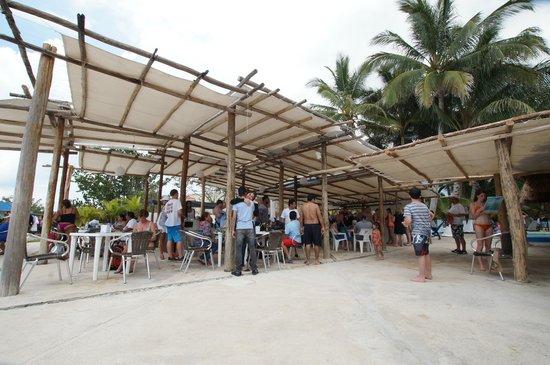 Playa Uvas : The restaurant :)