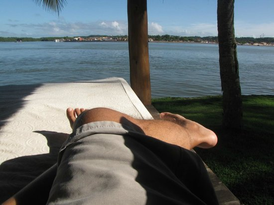 Arraial D'Ajuda Eco Resort: Descanso num dos gazebos do hotel