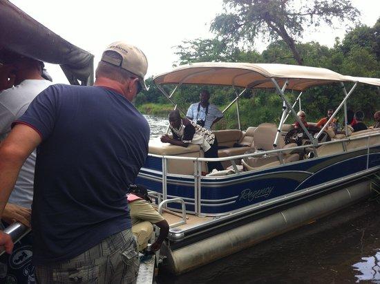 Wild Frontiers Uganda Safaris: Rescuers Boat