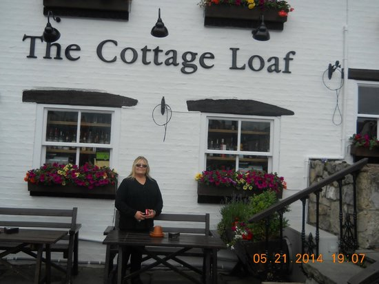 The Cottage Loaf: Me in front